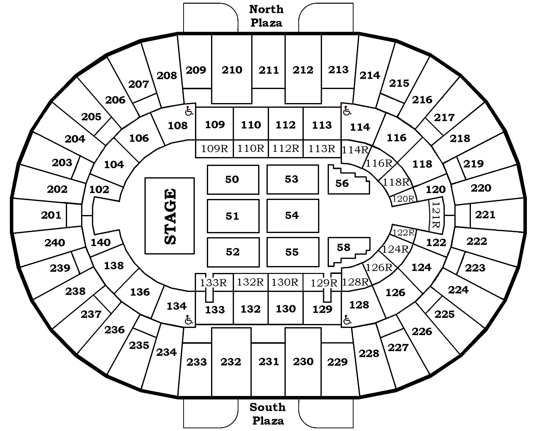 Charleston Coliseum Seating Chart