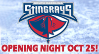 Wheeling Nailers at South Carolina Stingrays